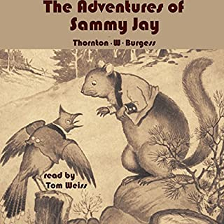 The Adventures of Sammy Jay audiobook cover art