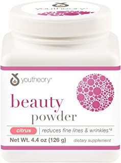 Youtheory Beauty Powder Citrus Flavor, 6.2 Ounces