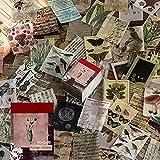 Lot de 366 feuilles de papier parchemin vintage pour scrapbooking, loisirs créatifs, création de cartes, journal, fournitures en papier