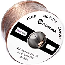 Kenable High Performance Extra Flexible OFC 105 Strand Speaker Cable Reel 100m (~330 feet)