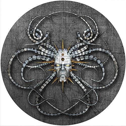Slipmat Rutschmatte/Kratzmatte aus Filz für jeden 30,5 cm LP DJ-Plattenspieler Custom Graphical – Gothic Art 2