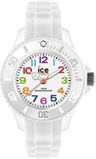 Ice-Watch - ICE mini White - Boy's (Unisex) wristwatch with silicon strap - 000744 (Extra Small)