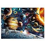 Larcele Viajero Espacial 1000 Piezas Puzzle para Adultos Regalo de Juego de Rompecabezas