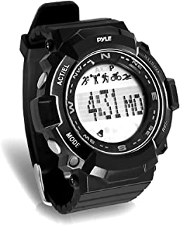 Pyle Sports PSPTR19 - Fitness Tracker Wrist Watch with Countdown Timer and Chronograph Stop Watch - Pedometer Counts Steps...