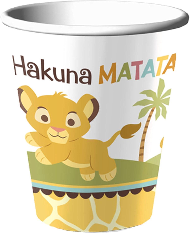 ventas en linea Baby Lion King 'Sweet Circle of of of Life' 9oz. Paper Cups (8ct)  Tienda de moda y compras online.