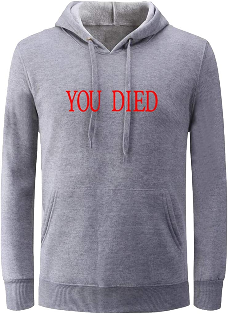 depot Unisex You Limited Special Price Died Funny Video Game Men Women Hoodiefor