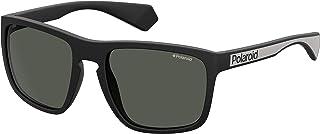 Polaroid PLD 2079/S SS19 Gafas de sol para Hombre, Matte Black, 57 mm