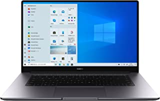 HUAWEI MateBook D 15 ノートパソコン 15.6インチ Windows 10 Home Ryzen5 メモリ8G/SSD256G 指紋認証付き電源ボタン Webカメラ スペースグレー【日本正規代理店品】【Windows 11 ...