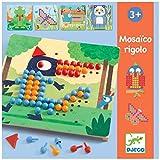 DJECO- Juegos de acción y reflejosJuegos educativosDJECOEducativos Mosáico rigolo, Multicolor (15)