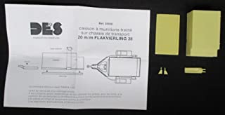 Des kit 1:35 Ammunition Trailer for 20mm Flak 38 1940/45 Model Accessory #35006
