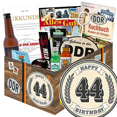 44. Geburtstagsgeschenk / Männer Paket / 44 Geschenke zum 44 Geburtstag