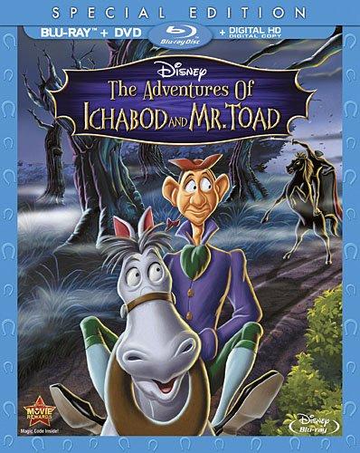 Adventures of Ichabod & Mr Toad  [Blu-ray] [Importado]