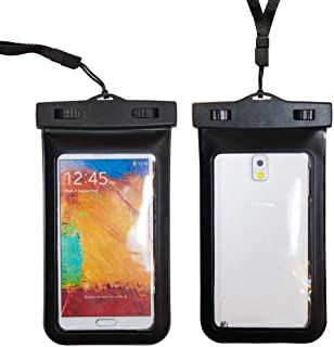 Importer520 Waterproof Case for Apple iPhone 6 6 Plus Samsung Galaxy S5, Samsung Note 3 / 2, Samsung Galaxy MEGA, HTC One M8 (2014), HTC One Max, LG G2 G3, Nokia Lumia 1520, Motorola Droid Ultra - Also fits other Large Smartphones up to 6.3