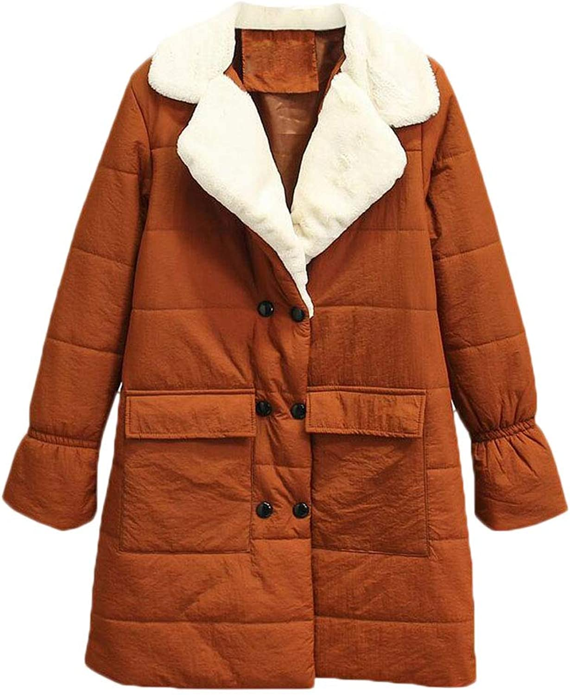 Winter Hooded Thick Long Cotton Coat Cotton Jacket Plus Fertilizer to Down Jacket (color   orange, Size   M)