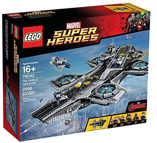 LEGO Marvel Super Heroes der helitransporte Shield–-Spiele BAU (16Jahr (S), 2996Stück (S), Comic, Kinder/Mädchen, Mehrfarbig
