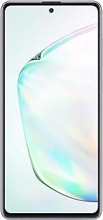 هاتف سامسونج جالكسي نوت 10 لايت ثنائي شرائح الاتصال بسعة 128 جيجا وذاكرة رام 8 جيجا، الجيل الرابع ال تي اي 6.7 Inch SM-N770FZSGKSA
