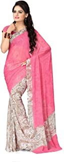 Vaamsi Chiffon Saree with Blouse Piece