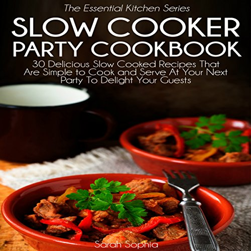 Slow Cooker Party Cookbook cover art