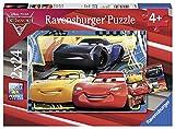 Ravensburger- Puzzle 2 x 24 Piezas, Cars 3 (07810)