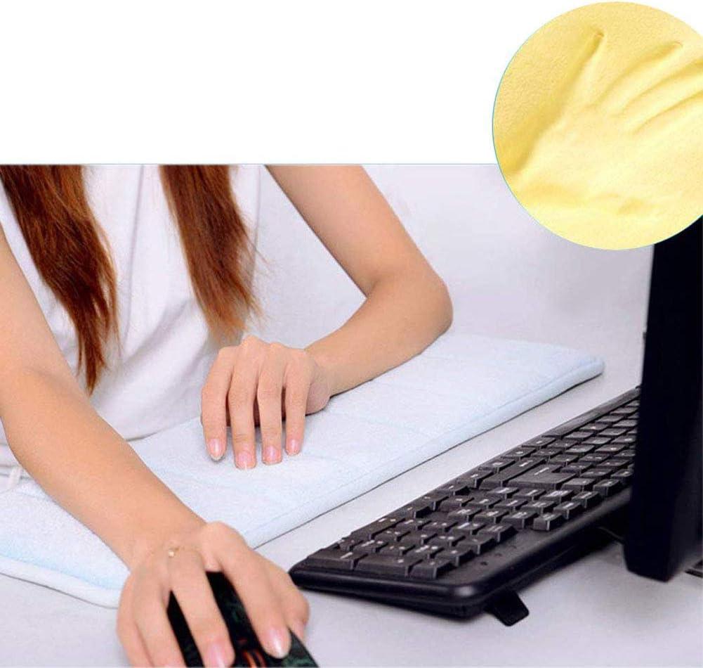m/ás Comodidad y Menos Esfuerzo,A SHKY 2 Piezas de Almohadilla de mu/ñeca de Codo de algod/ón de Memoria Premium port/átil para computadoras port/átiles de Oficina