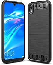 LAGUI Compatible for Huawei Y5 2019 Case, Lightweight and Durable Ultra Thin Cover. black