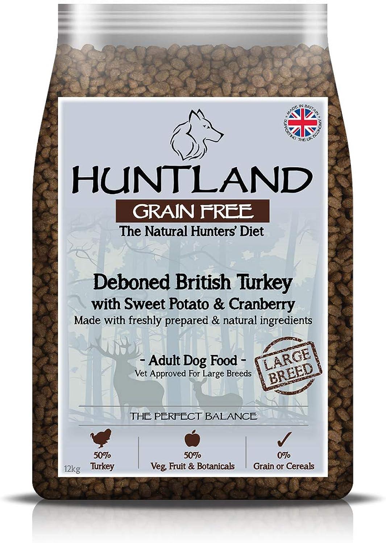 Huntland Adult Turkey Large Breed Dry Dog Food  12kg