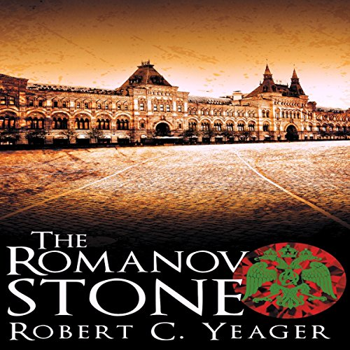 The Romanov Stone audiobook cover art