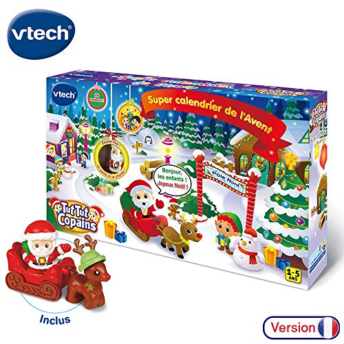 V Tech – TUT TUT Copains – Super Kalender des Weihnachtsmanns