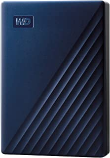 WD Mac用ポータブルHDD 4TB USB3.0 タイムマシン対応 My Passport for Mac 暗号化 パスワード保護 / 3年保証 WDBA2F0040BBL-WESN
