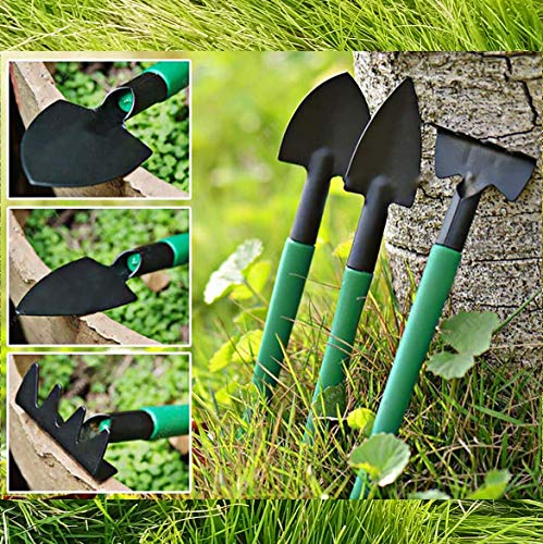 Gardening Tools Set,14 Pieces Stainless Steel Garden Hand Tool, Garden Tools Set Gardening Gifts for Women,Men,Gardener (Dark Green-14)