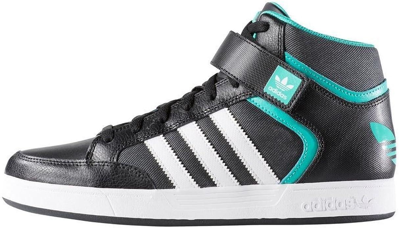 Amazon.com | Adidas Varial Mid Black Athletic Basketball Shoes ...