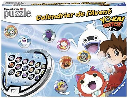 Ravensburger – 11674 – Adventskalender Yo Kai Watch