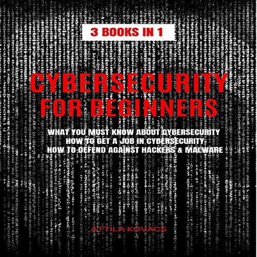 Cybersecurity for Beginners  By  cover art