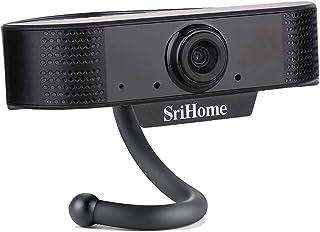joupugi 1080P HD Focusing Webcam, Desktop Computer USB Camera with Microphone,30FPS Digital USB Video Recorder Clip-on for...