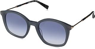 MaxMara Max Mara Wayfarer Sunglasses For Women - Purple Lens