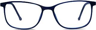 SOJOS Square Anti Blue Light Blocking Glasses Women Computer Eyeglasses SJ5054