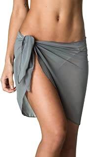 gray swimsuit cover up