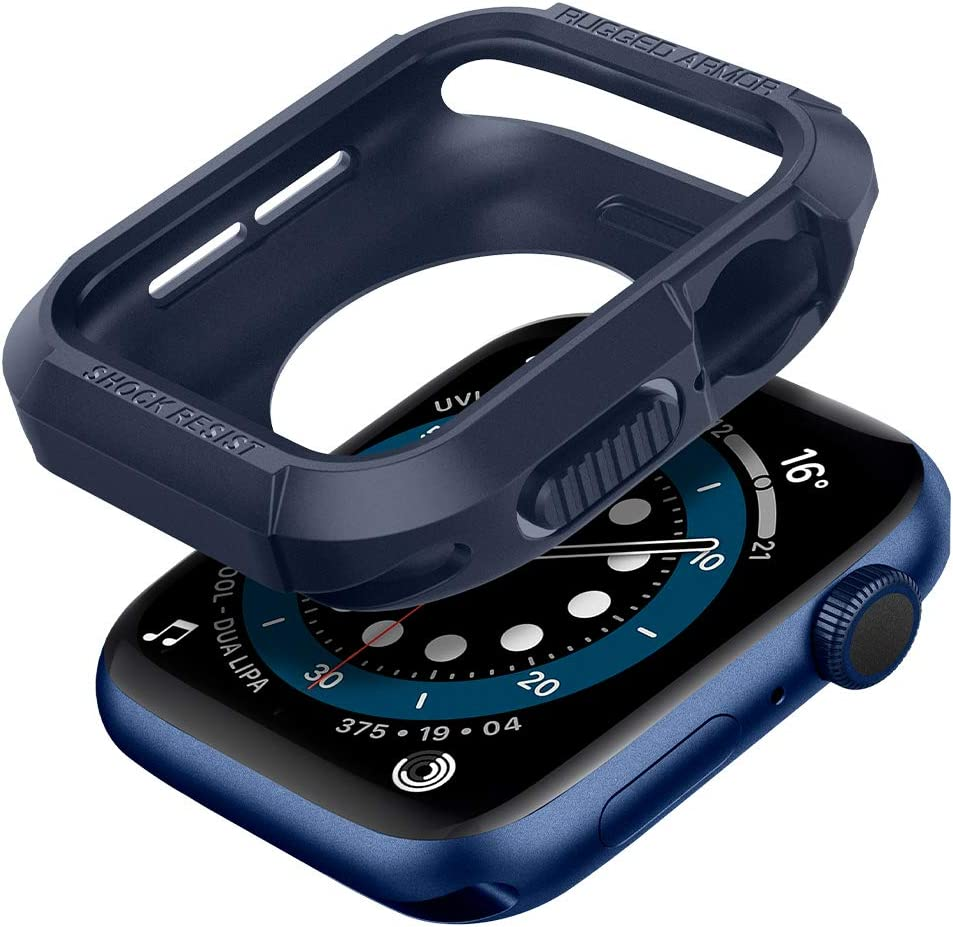 Funda Spigen Apple Watch Series 6/se/5/4 40mm azul