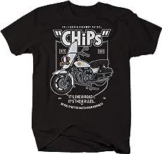 M22 CHP California Highway Patrol Chips Motorcycle Vintage Biker Cop Tshirt