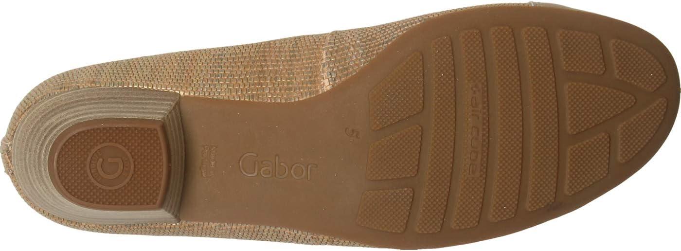Gabor Comfort Comfortabel tot 35 mm hak/wig, beige beige