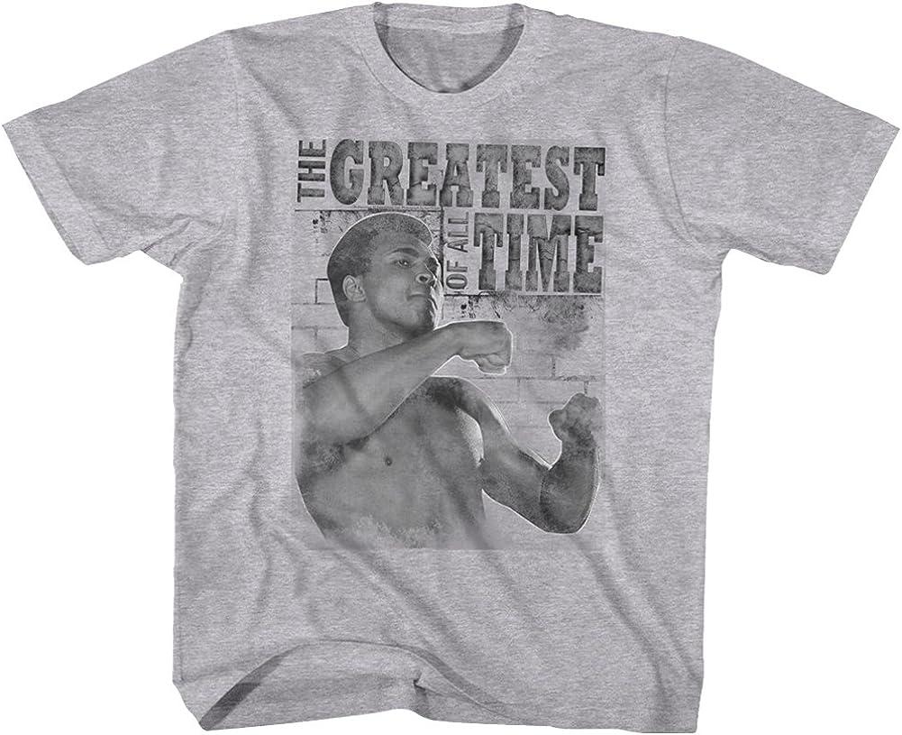 Muhammad Ali Training Stance Gray Heather Youth T-Shirt Tee