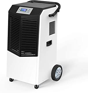 Inofia 232 PPD Commercial Dehumidifier, Large Industrial Dehumidifier with Hose for Basements, Warehouse & Job Sites Clean-Up, Flood, Water Damage Restoration - Moisture Removal Up to 29 Gallons/Day