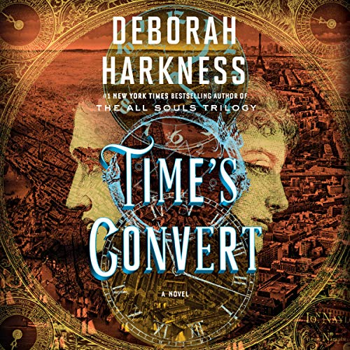 Time's Convert     A Novel              By:                                                                                                                                 Deborah Harkness                               Narrated by:                                                                                                                                 Saskia Maarleveld                      Length: 15 hrs and 46 mins     3,610 ratings     Overall 4.3