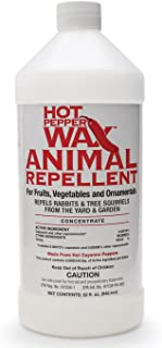Neptune's Harvest HPA132 Hot Pepper Wax Animal Repellent, 1-Quart