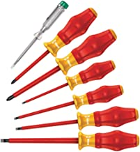 WERA 1160 i/7 Safety screwdriver set Kraftform Comfort VDE and voltage tester 07 PCS - 05031575001