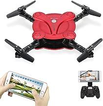Goolsky FQ17W RC Drone with Camera Live Vedio Wifi FPV Foldable G-sensor Altitude Hold Quadcopter