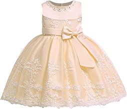 LZH Bebé Infantil Niñas Vestido de Bautizo de Cumpleaños Bautismo Vestido de Banquete de Boda