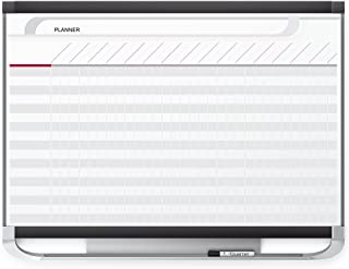 Quartet Prestige 2 Magnetic Total Erase Project Planner, 3 x 2 Feet Board with 16 Row/29 Column Chart (PP32P2)