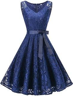 Bridesmaid Lace Dress Women Sleeveless/Long Sleeve Formal Ladies Wedding Bridesmaid Lace Long Dress