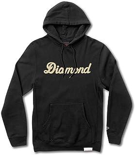 Diamond Supply Co City Script Pullover Hoodie Black